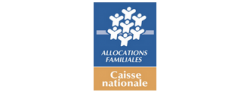 CNAF Caisse Nationale aux Allocations Familiales LOGO SMALL
